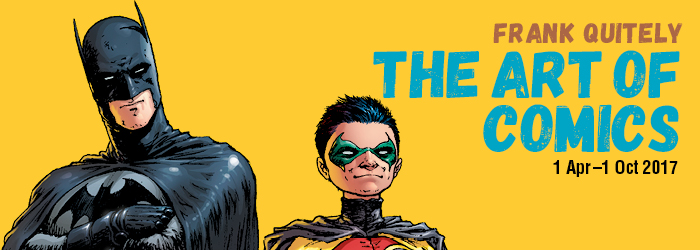 Frank Quitely: The Art of Comics Promo Image