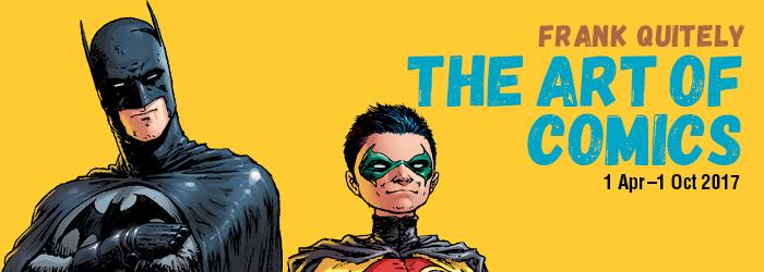 Frank Quitely: The Art of Comics Promo Image