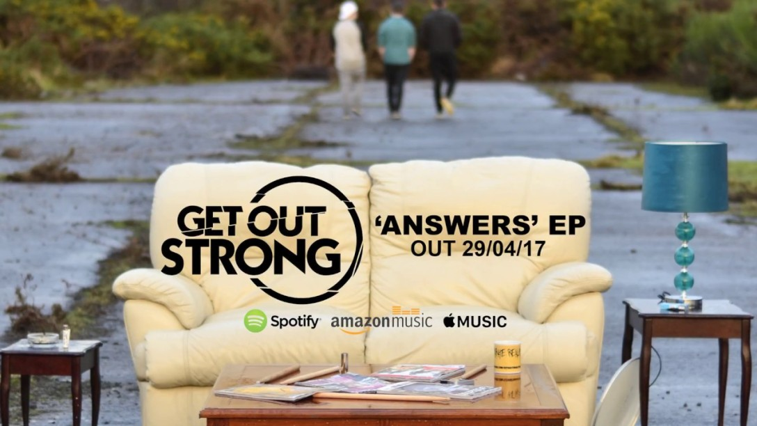 Get Out Strong 'Answers' Artwork