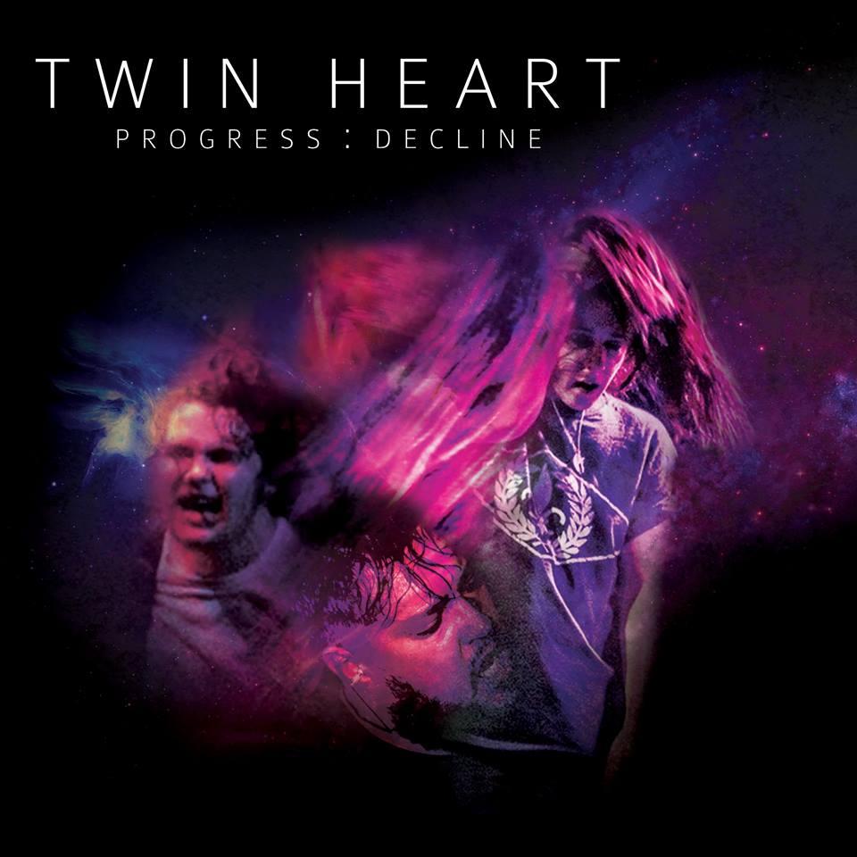 Twin Heart 'Progress Decline' Album Artwork