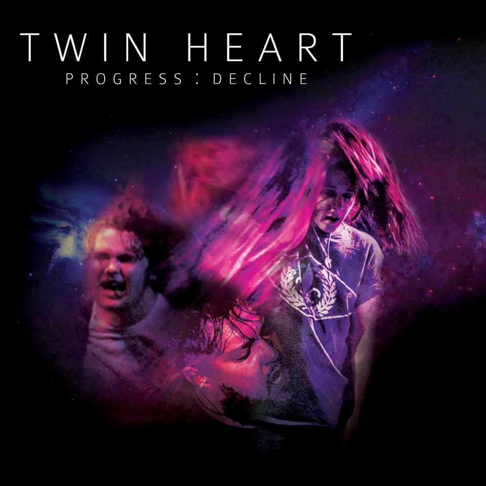 Twin Heart 'Progress Decline' Album Artwork
