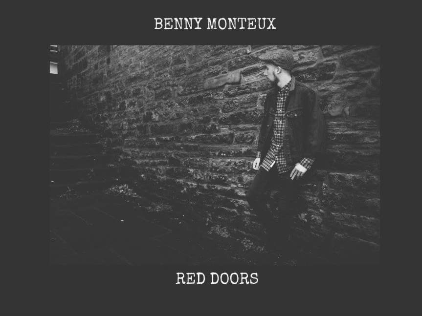 Benny Monteux 'Red Doors' Album Artwork