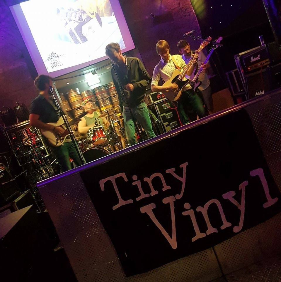 Tiny Vinyl Band Photo