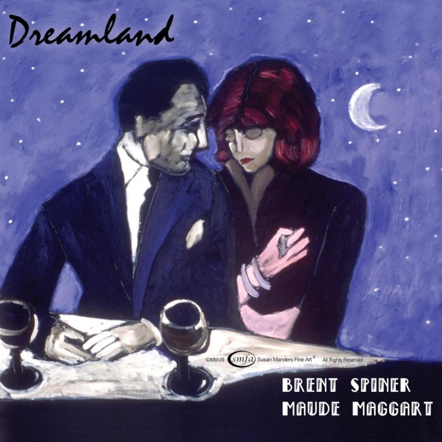 Brent Spiner and Maude Maggart 'Dreamland' Album Artwork