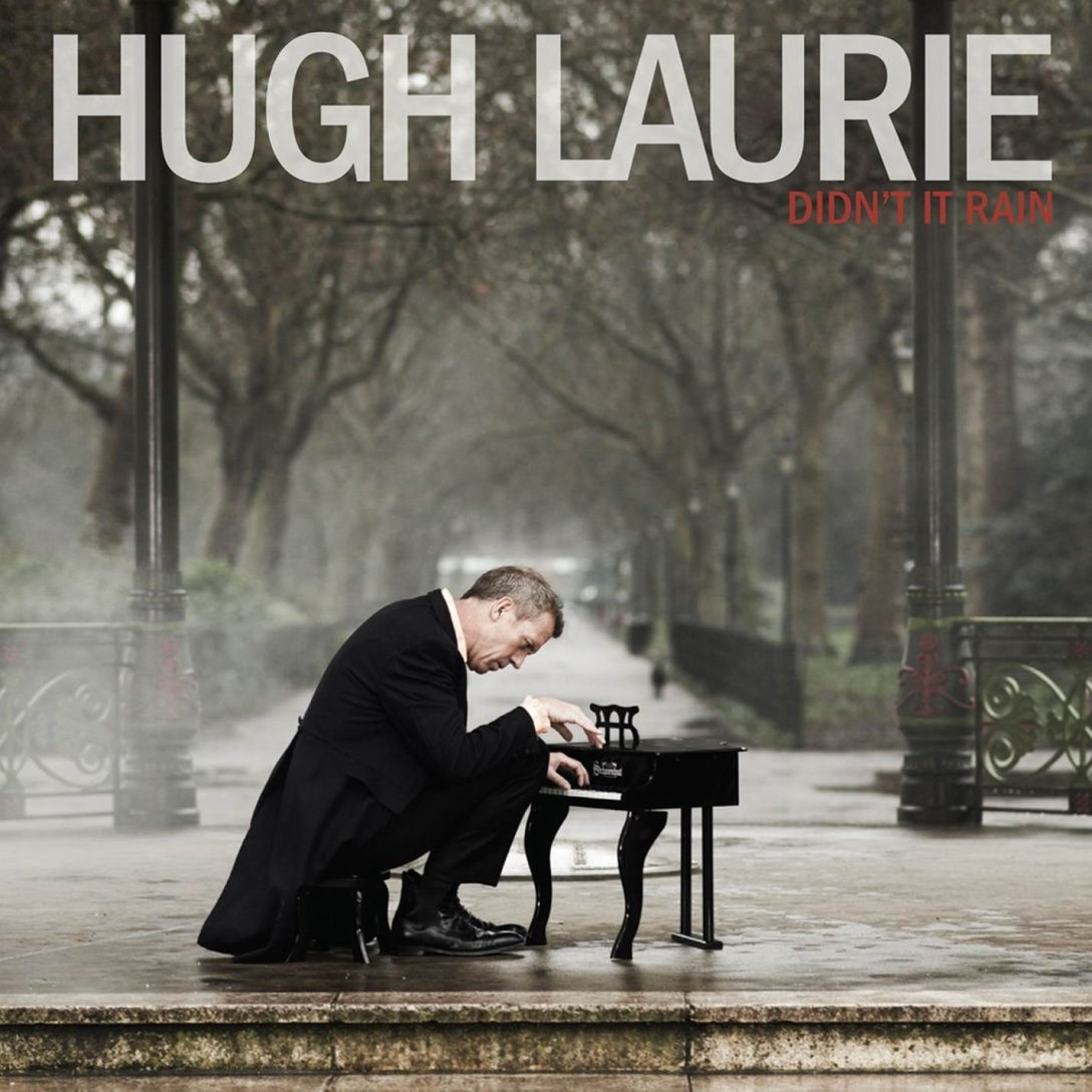 Hugh Laurie Didn't It Rain Album Artwork