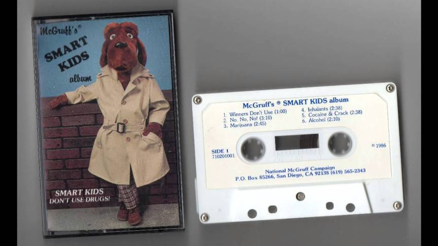 Album Review: Mcgruff the Crime Dog – McGruff's SmartKids