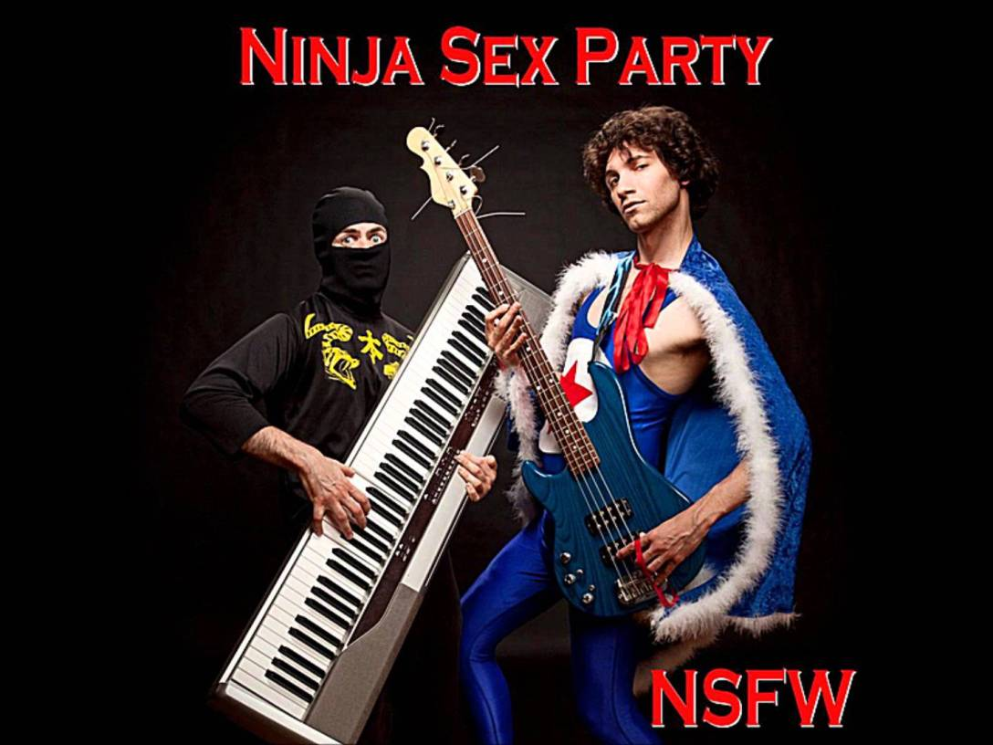 Ninja Sex Party 'NSFW' Album Artwork