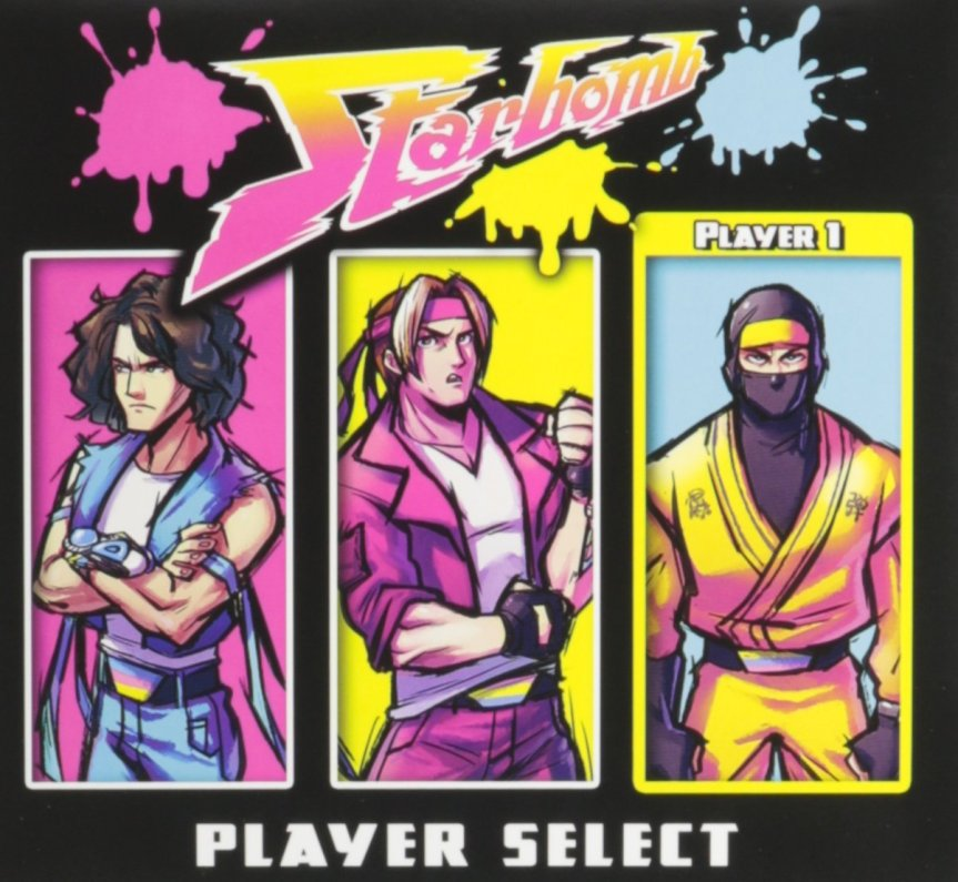 Starbomb 'Player Select' Album Artwork