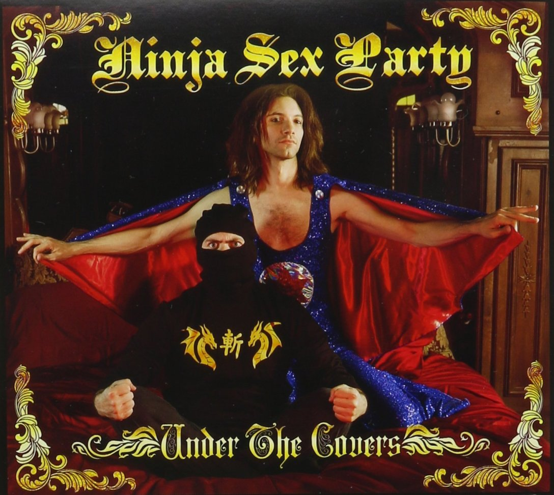 Ninja Sex Party 'Under the Covers' Album Artwork