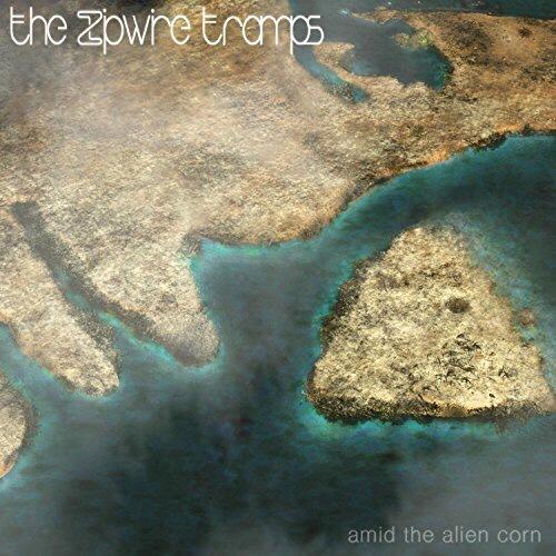 The Zipwire Tramps 'Amid the Alien Corn' Cover Art