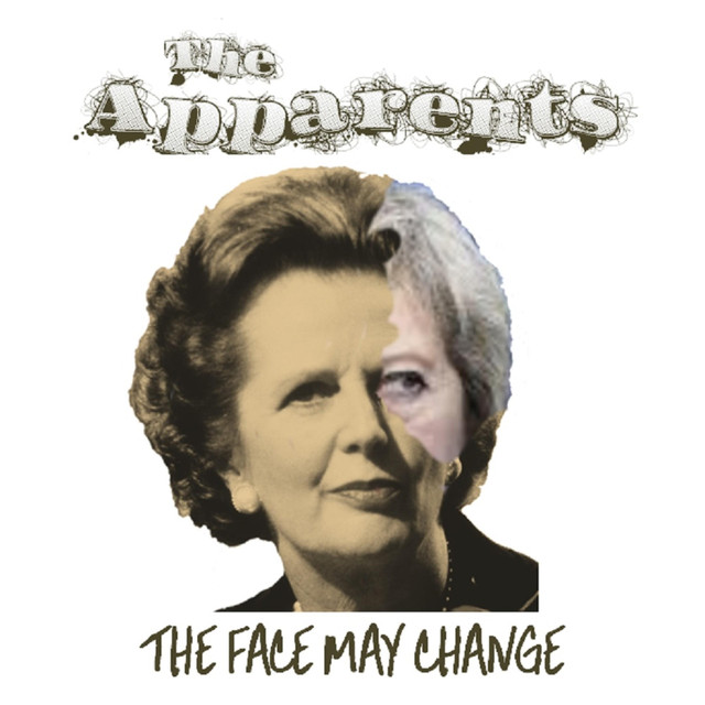 The Apparents 'The Face May Change' cover art