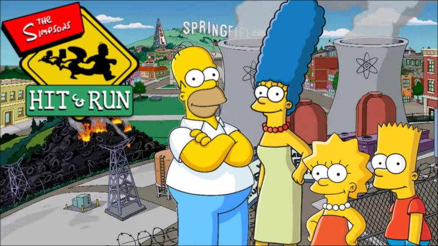 Game Review: The Simpsons – Hit and Run