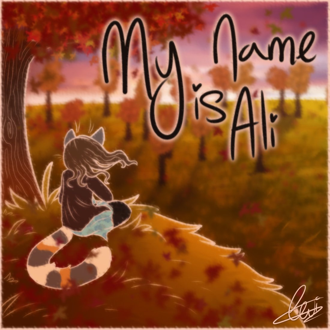 My Name is Ali Single Artwork