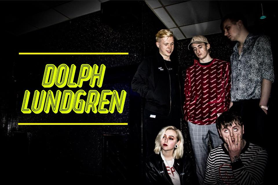 Franky's Evil Party 'Dolph Lundgren' Album Artwork