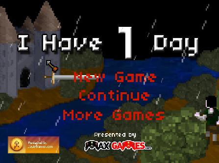 Game Review: I have 1 day (Flash Game)