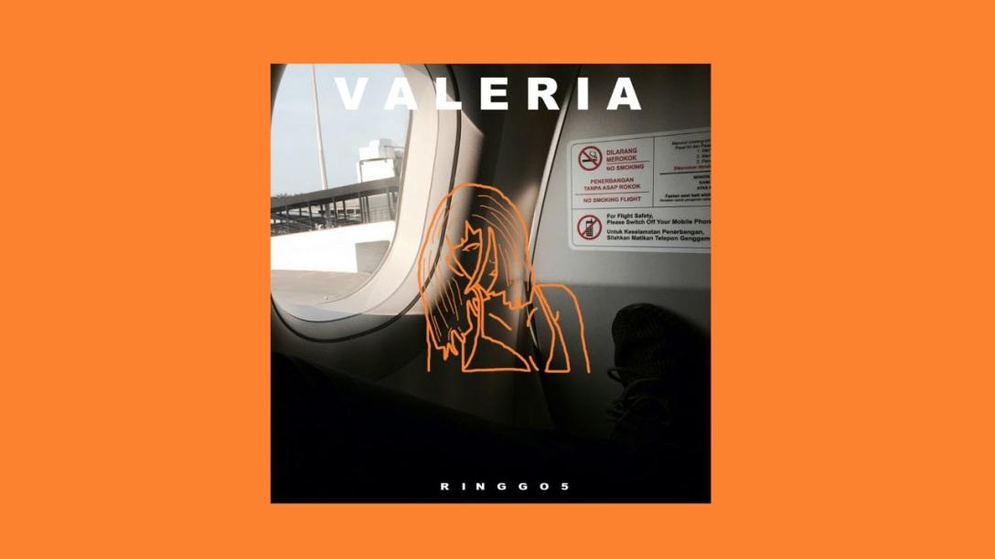 Ringgo 5 single 'Valeria' Artwork