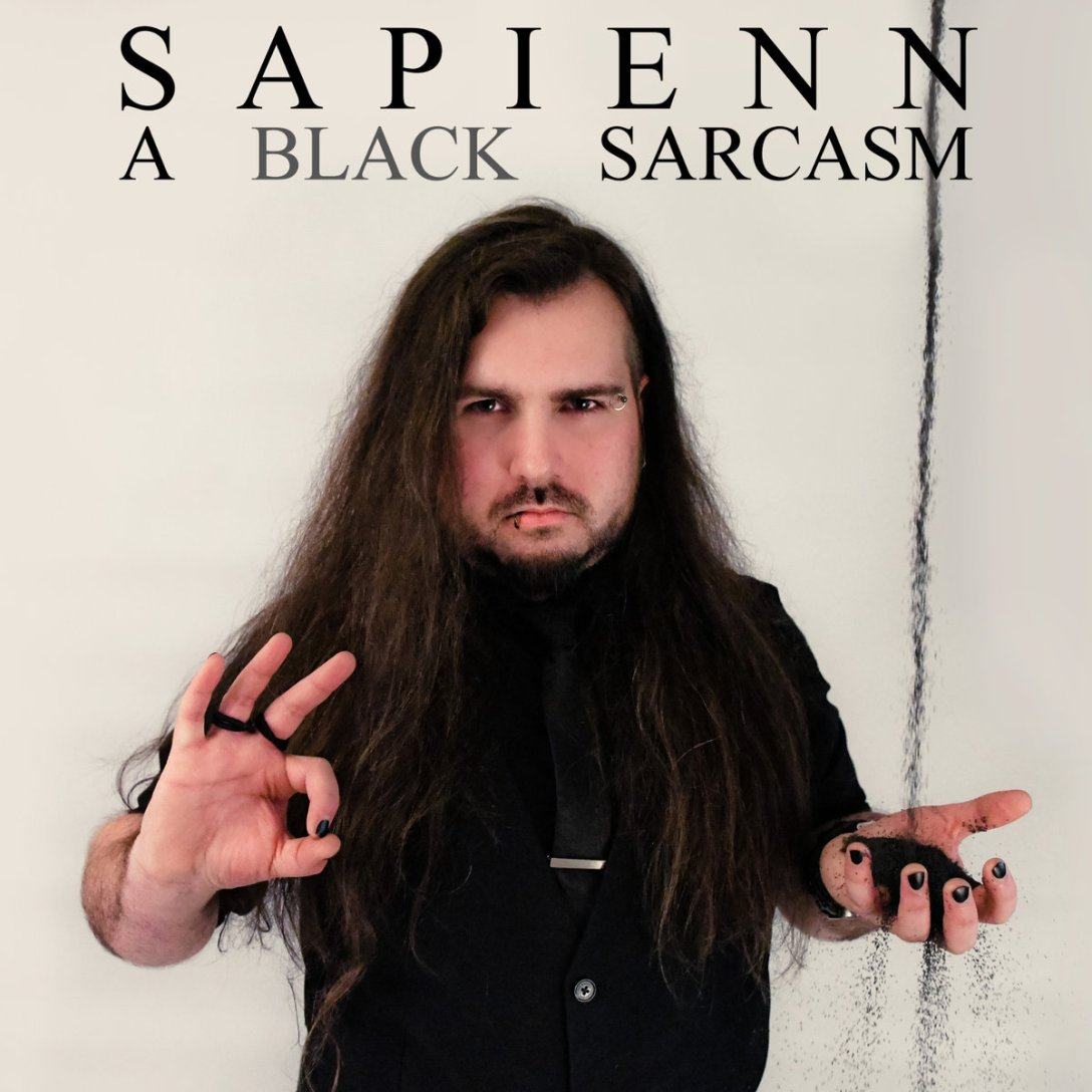 Sapienn 'A Black Sarcasm' album artwork