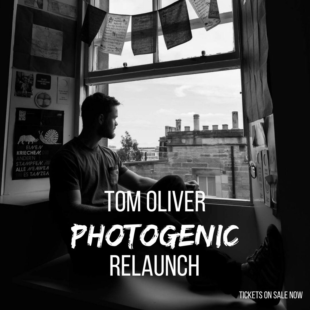 Tom Oliver 'Photogenic' re-release Artwork