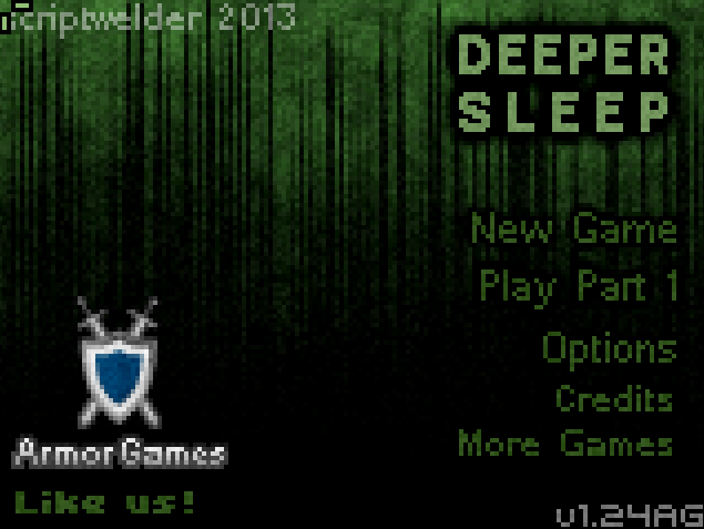 Game Review: Deeper Sleep (Flash Game)