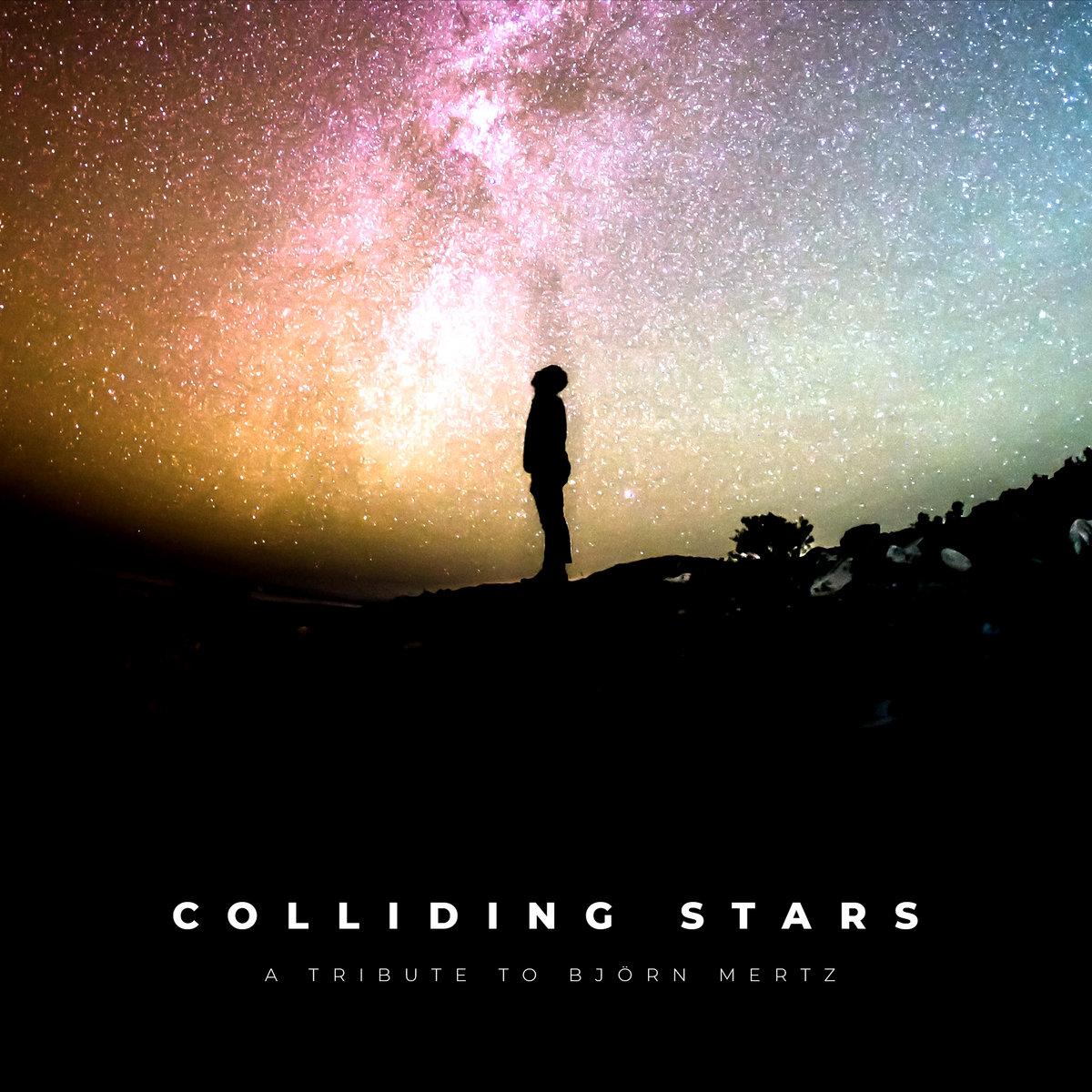 Atlanta Arrival single Colliding Stars (A Tribute To Björn Mertz) Artwork