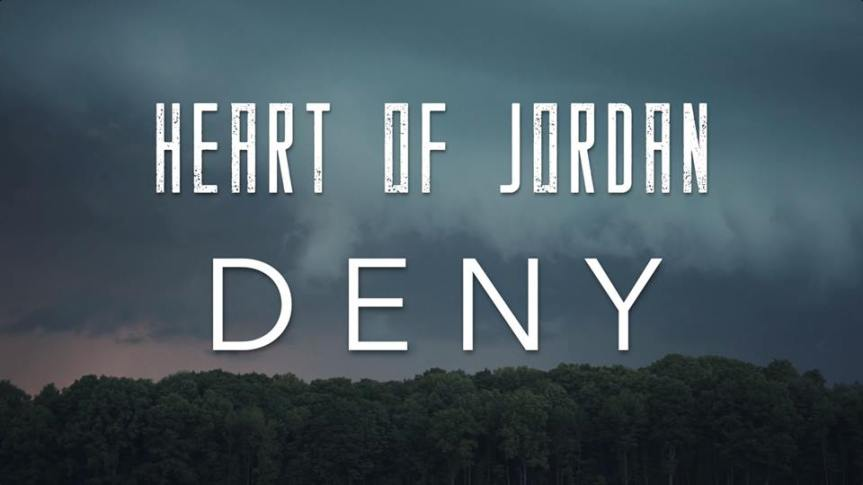 Heart of Jordan single 'Deny' Artwork