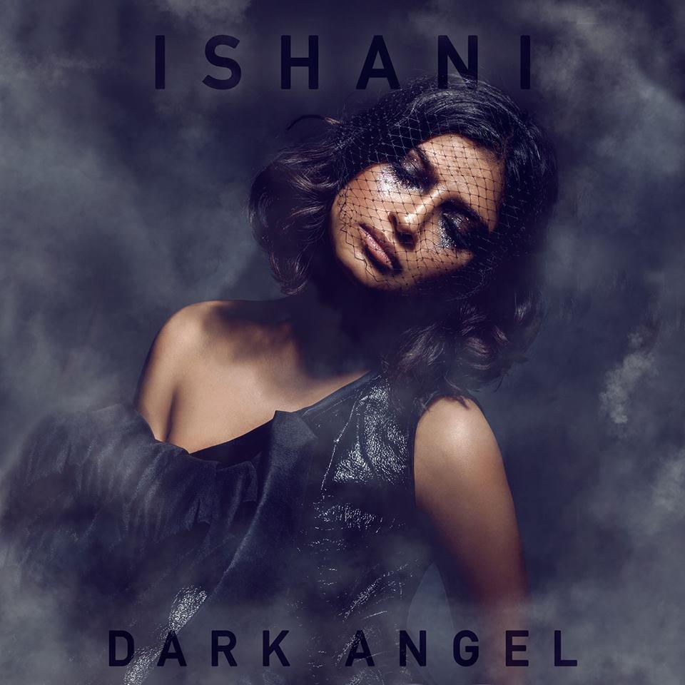 Ishani single 'Dark Angel' Artwork