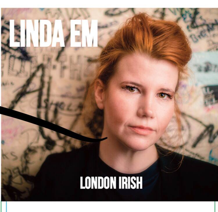 Linda Em 'London Irish' Artwork
