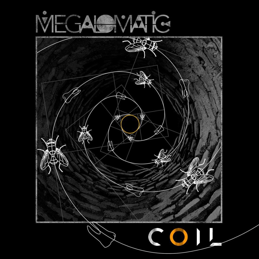 Megalomatic 'Coil' Artwork
