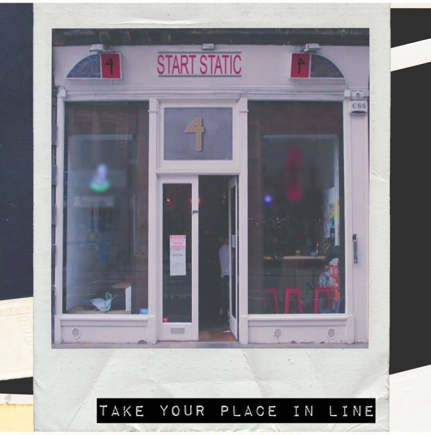 Start Static 'Take Your Place In Line' Artwork