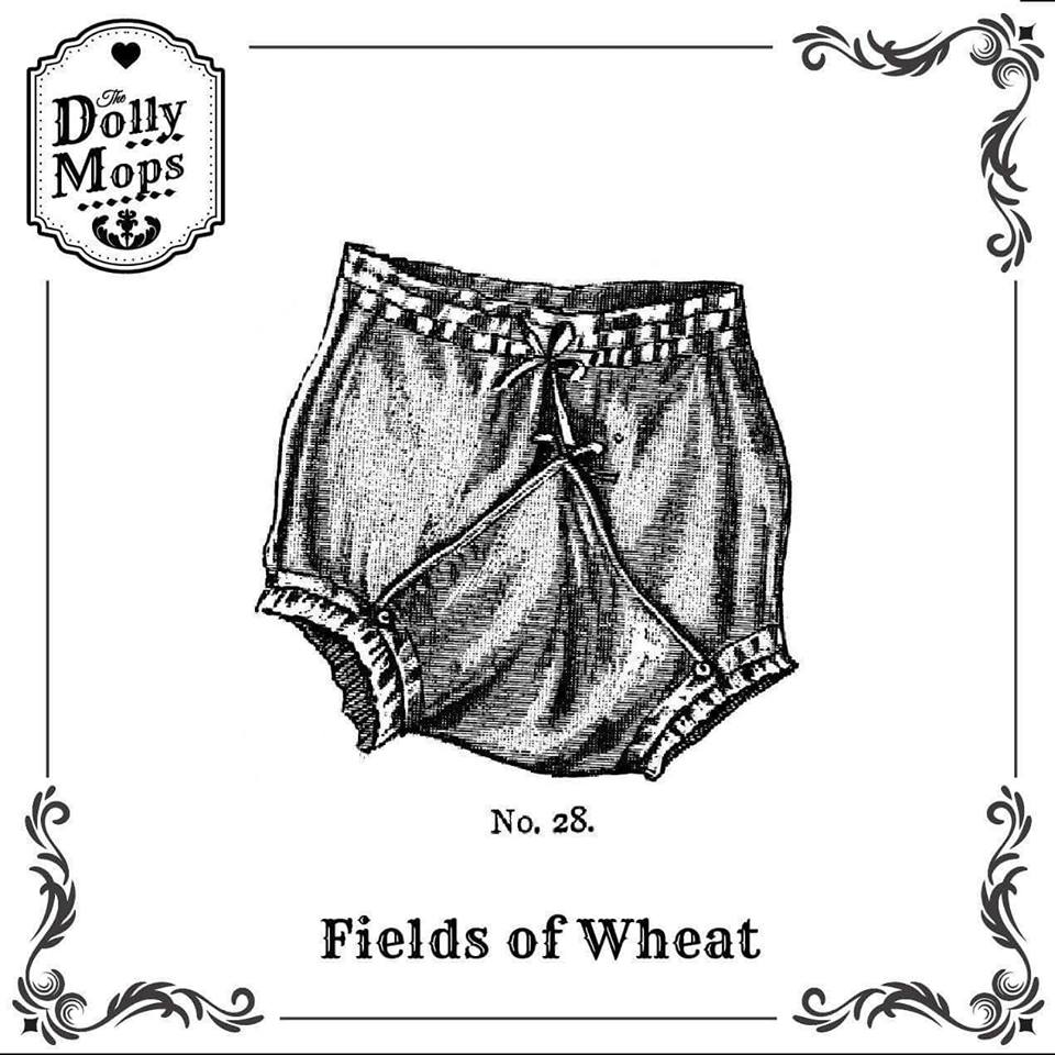 The Dollymops EP 'Fields of Wheat' Artwork