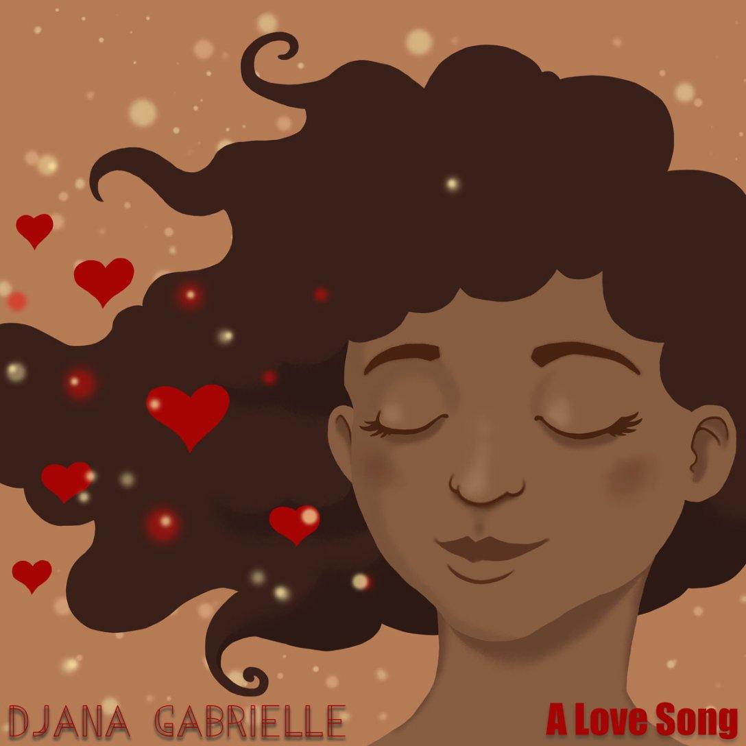 Djana Gabrielle 'A Love Song' Artwork