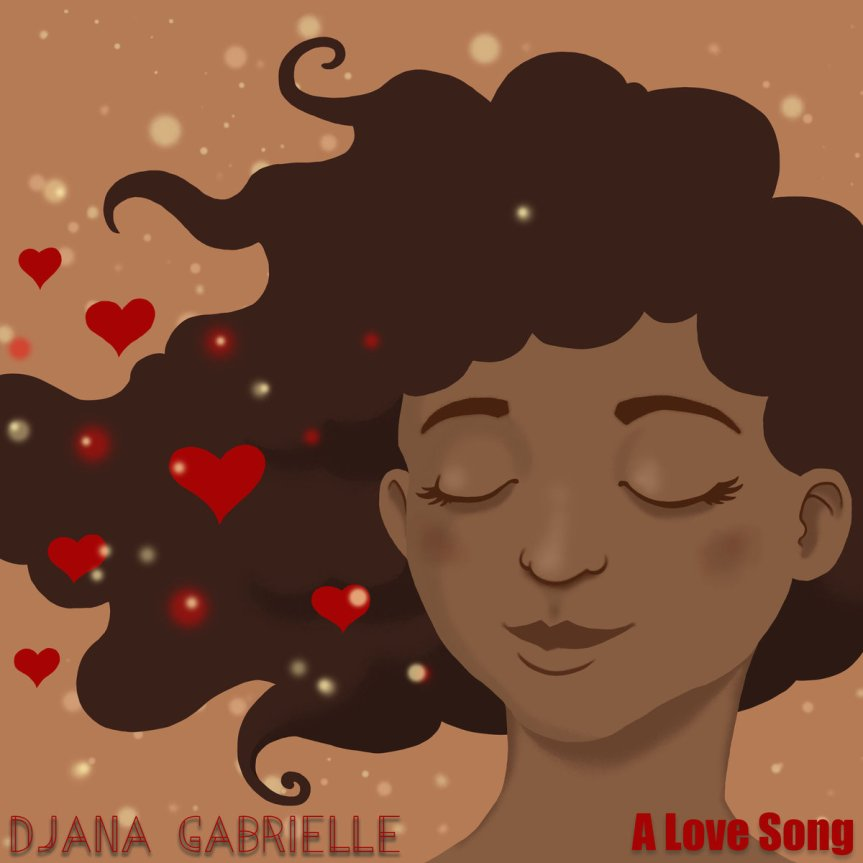 Djana Gabrielle 'A Love Song' Artwork