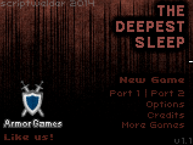 Game Review: Deepest Sleep (Flash Game)