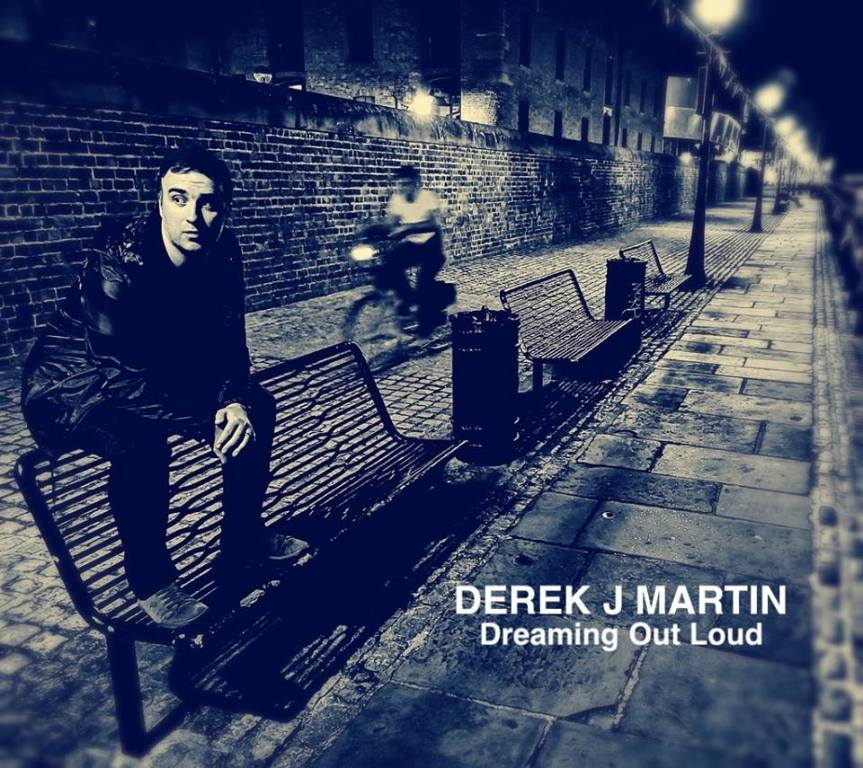 Derek J Martin 'Dreaming Out Loud' Artwork