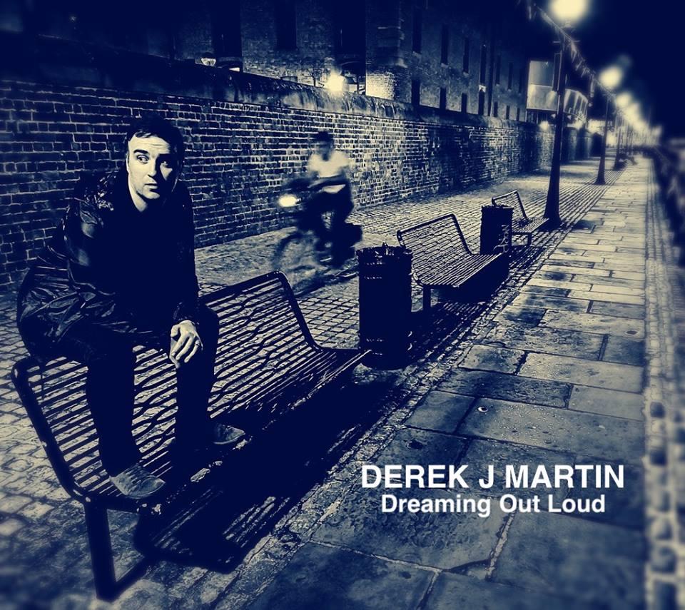 Derek J Martin 'Dreaming Out Loud' Artwork