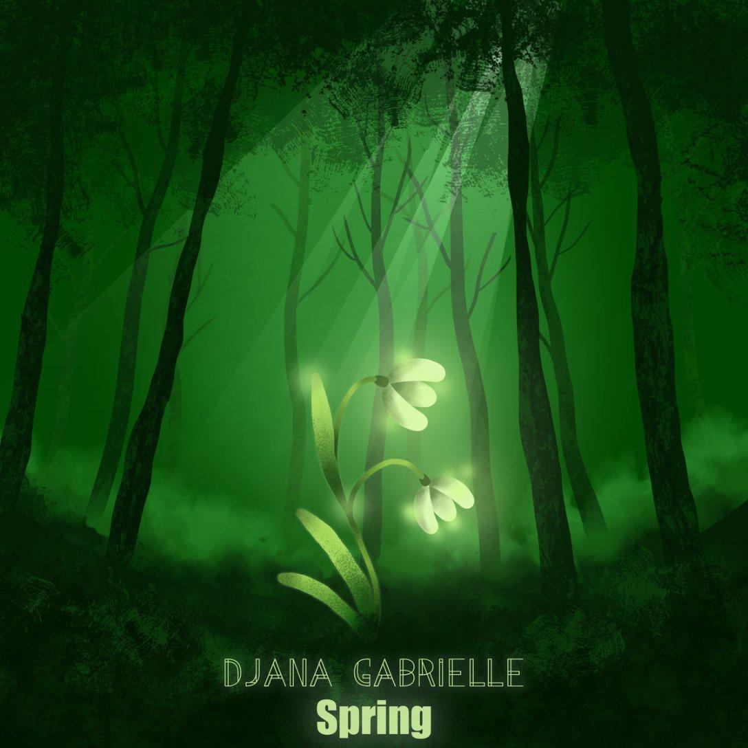 Djana Gabrielle 'Spring' Artwork