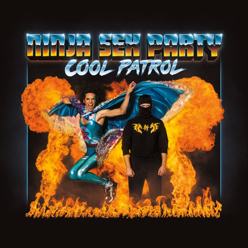 Ninja Sex Party 'Cool Patrol' Artwork