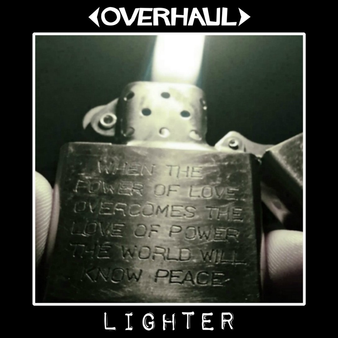 Overhaul Album 'Lighter' Artwork