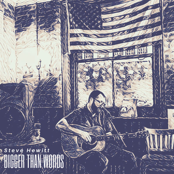 Steve Hewitt 'Bigger than Words' Album Artwork