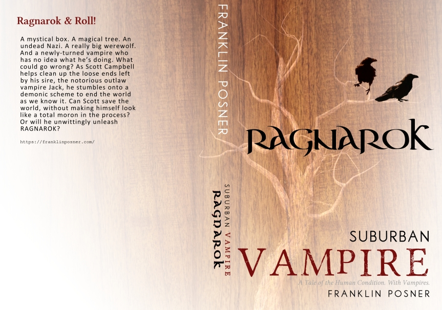 Book Review: Suburban Vampire Ragnarok by Franklin Posner