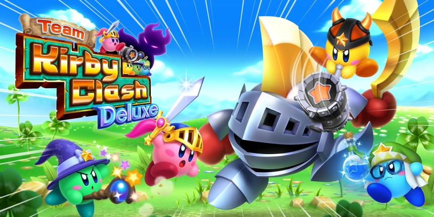 Team Kirby Clash Deluxe Artwork