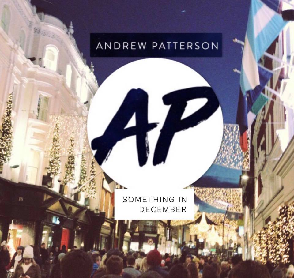 Andrew Patterson single 'Something in December' Artwork