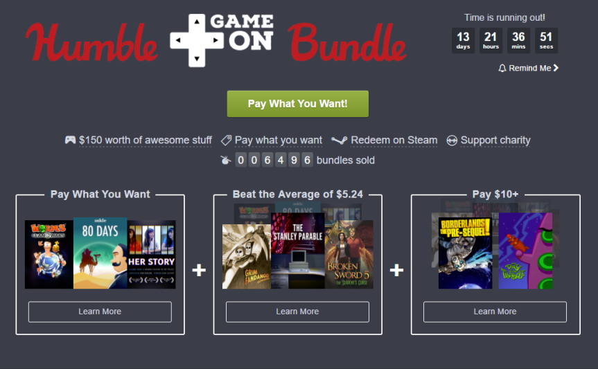 Humble Bundle is a Bundle of Fun!