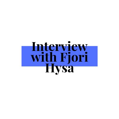 Author Interview: FjoriHysa