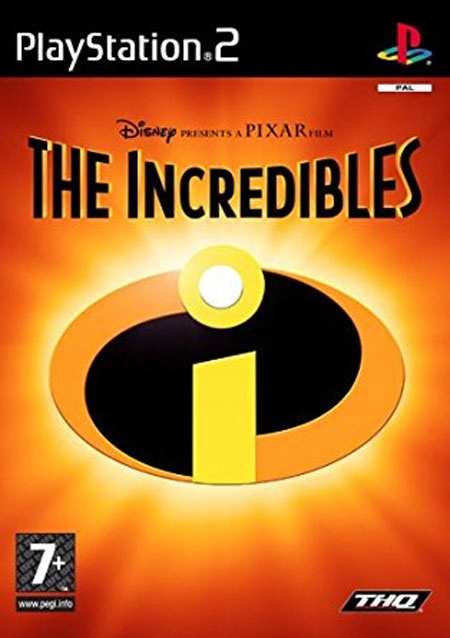 The Incredibles Game Cover