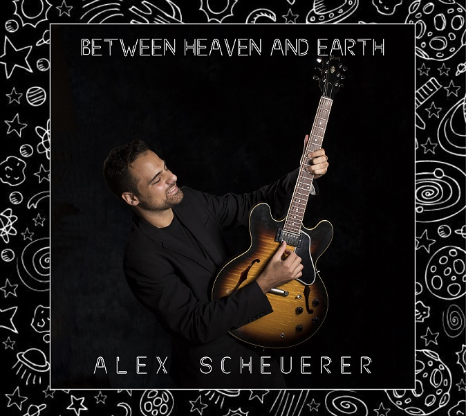 Alex Scheuerer Album 'Between Heaven and Earth' Artwork