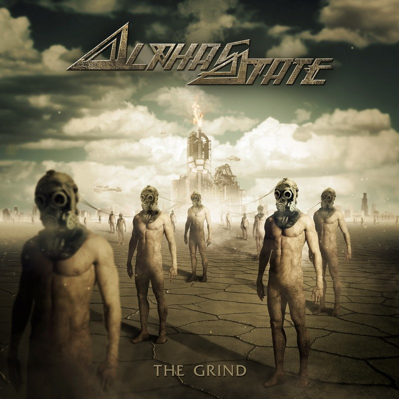Alphastate - The Grind Album Artwork