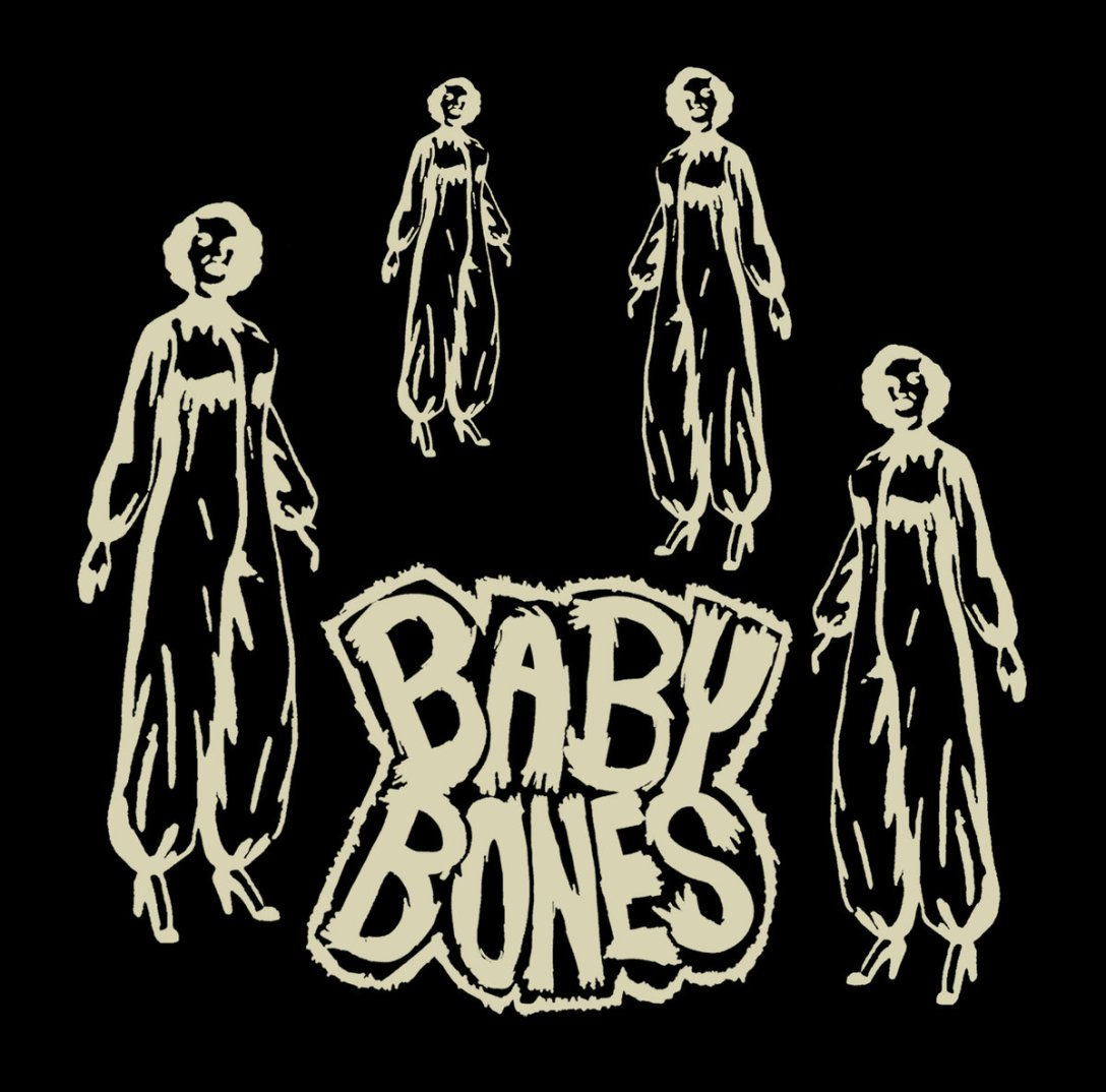 Baby Bones album 'The Curse of the Crystal Teeth' Artwork