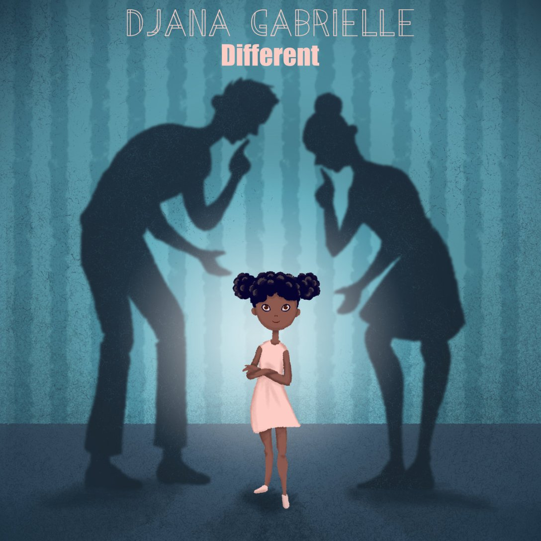 Djana Gabrielle Single 'Different' Artwork