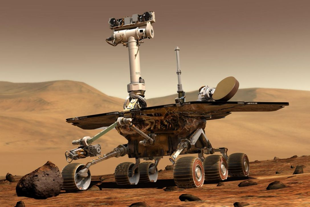 Mars Opportunity Rover Photo